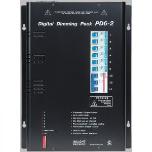 IMLIGHT PD 6-2 (V) блок диммерный цифровой 6каналов по 10А