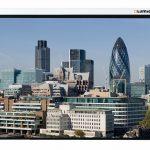 Проекционный экран с электроприводом Lumien Master Control (LMC-100102) 180х180 см
