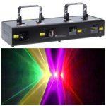 Лазерный проектор с туннельным эффектом  KV Four Tunnel Laser 4 цветный