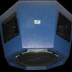 Широкополосная акустическая система, предназначенная для озвучивания ледовых дворцов спорта и других спортивных сооружений. Octa 15