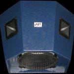 Широкополосная акустическая система, предназначенная для озвучивания ледовых дворцов спорта и других спортивных сооружений Penta 10