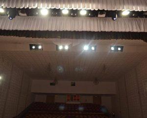Установка художественного сценического освещения в РДК «Баймак»