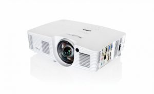 Проектор Optoma X316ST 95.70301GCOE Full 3D, DLP, XGA 1024*768, 3400 ANSI Lm, 20 000:1, Короткофокусный Throw Ratio 0.617:1; HDMI, 2x15-пин D-sub RGB/YPbPr/Wireless, S-Video, композит, аудиовход - Jack, USB Type B; VGA Out; RS232, RJ45, 2.55 кг.